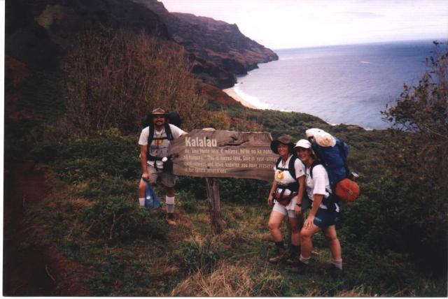 Napali Coast Hike. Na Pali Coast Hike